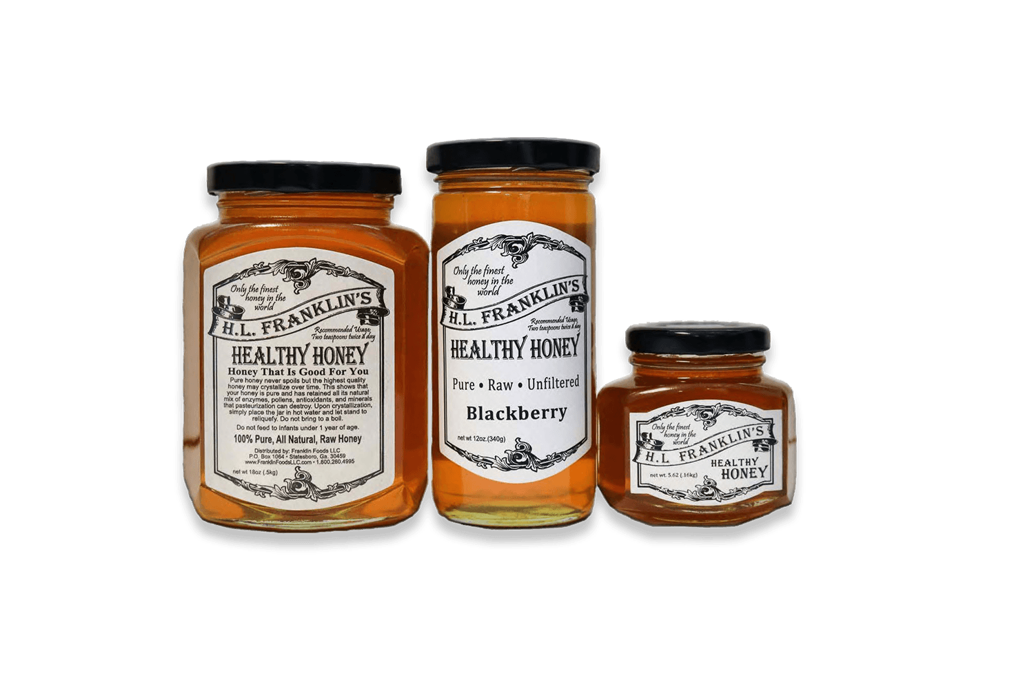 Honey Jars Archives - H L  FRANKLIN'S HEALTHY HONEY